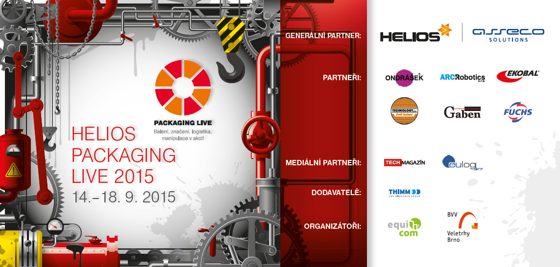 PACKAGING LIVE na MSV 2015